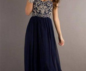 dress, Prom, and long image