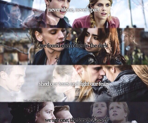 divergent, percy jackson, and the mortal instruments image