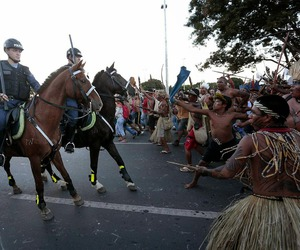 brazil, jesus, and tribes image
