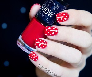 nails, Maybelline, and nail polish image