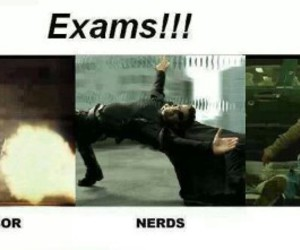 exams, funny, and nerds image
