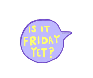 friday and transparent image