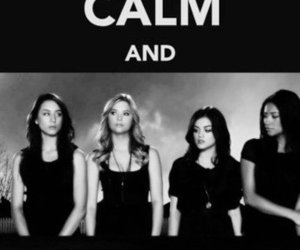 pretty little liars, lies, and pll image