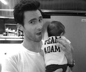adam levine, baby, and adam image