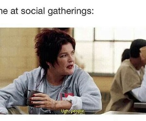 introvert, me, and gatherings image