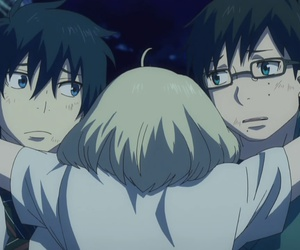ao no exorcist and anime image