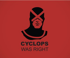 cyclops, hero, and red image