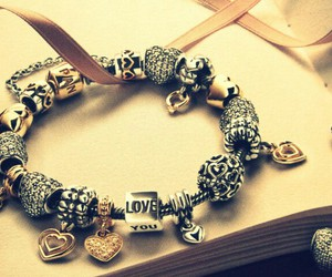 bracelets, charms, and heart image