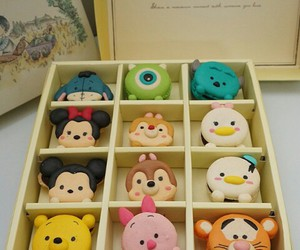 disney, mickey mouse, and macaroons image