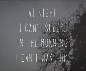 sleep, night, and morning image