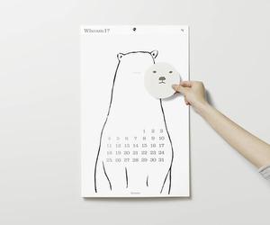 art print, minimal, and bear image
