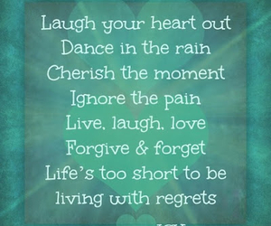 laugh, life, and quotes image