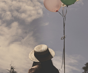 balloons, fashion, and photography image