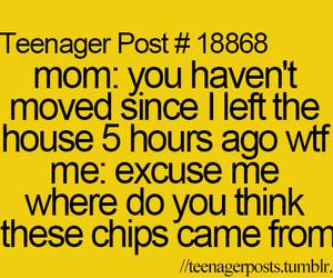 teenager post, lol, and mom image