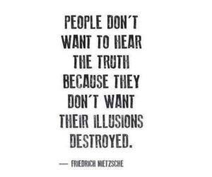 quote, illusion, and truth image