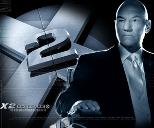 professor x, patrick stewart, and x men image