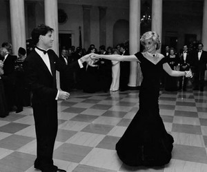 John Travolta, princess diana, and diana image