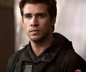 liam hemsworth, mockingjay, and gale image