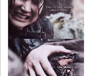 the hunger games, katniss everdeen, and the fault in ours stars image