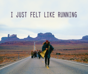 forrest gump, movie, and running image