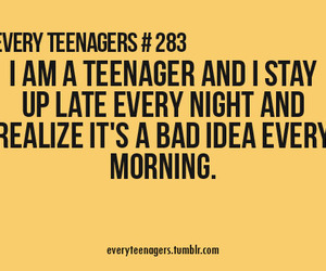 teenager, true, and quote image