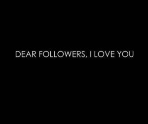I Love You, thank you, and 263 followers image