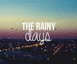 rain, days, and rainy image