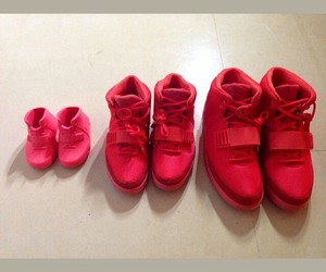 shoes, family, and red image