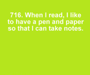 book, read, and notes image