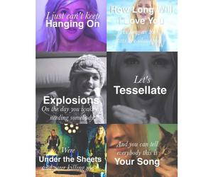 Ellie Goulding, explosions, and your song image