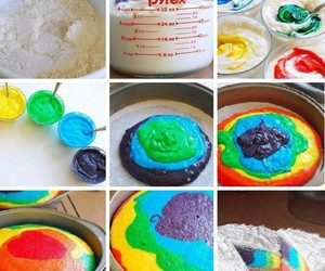 cake and colors image
