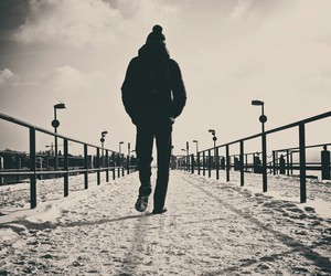 alone, men, and cold image