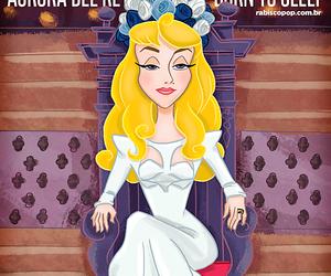 aurora, lana del rey, and princess image