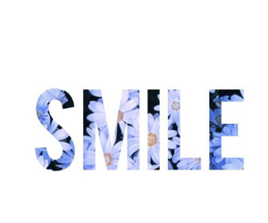 smile, flowers, and white image