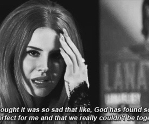 angry, lana del rey, and love image