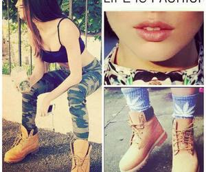 boots and girl image