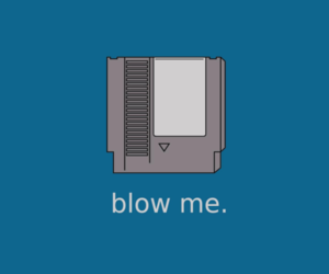 blow me, nintendo, and nes image