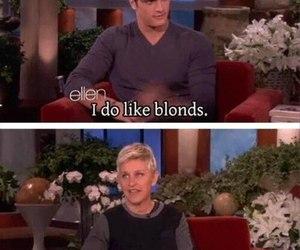 funny, ellen, and blonde image