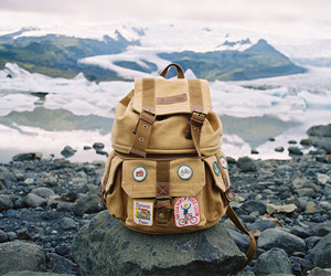 travel, adventure, and backpack image