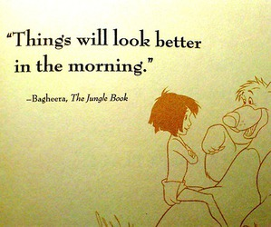 jungle book, morning, and movies image