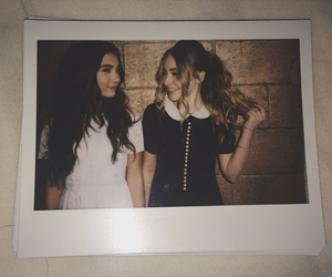 sabrina carpenter, rowan blanchard, and girl meets world image