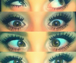 eyes, maquillage, and make-up image