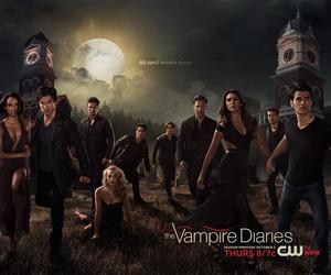the vampire diaries, tvd, and season 6 image