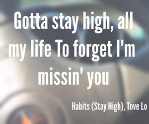 habits, lo, and lyric image