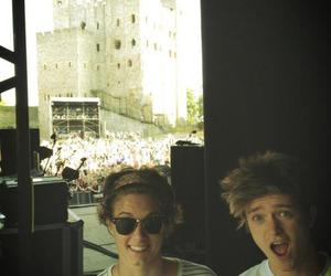 the vamps, Connor, and bradley simpson image