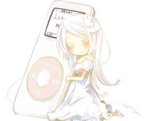 anime, ipod, and kawaii image