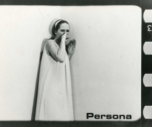 ingmar bergman, persona, and liv ulmann image