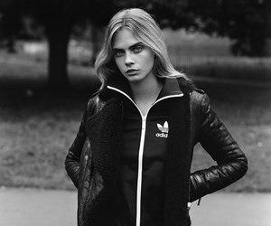 cara delevingne, model, and adidas image