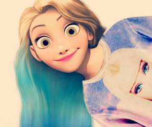 rapunzel, divergent, and disney image