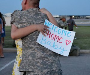 home, soldier, and war image